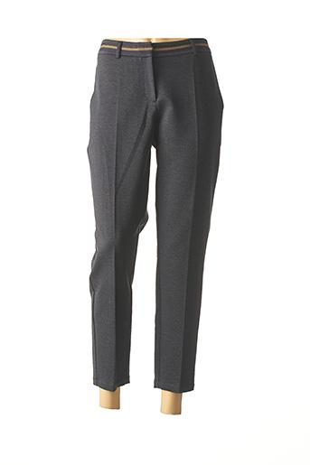 Pantalon 7/8 bleu MAE MAHE pour femme