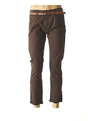 Pantalon casual marron DSTREZZED pour homme seconde vue
