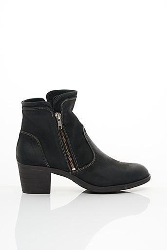 Bottines/Boots noir CHACAL pour femme