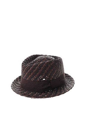 Chapeau marron HATTYPIC pour femme