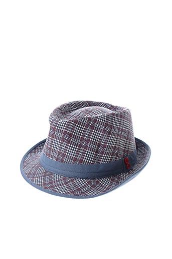 Chapeau bleu MARONE pour homme