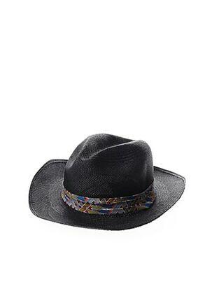 Chapeau noir HOMERO ORTEGA pour homme