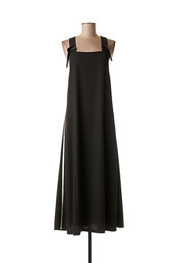 Robe mi-longue noir BEATRICE.B pour femme