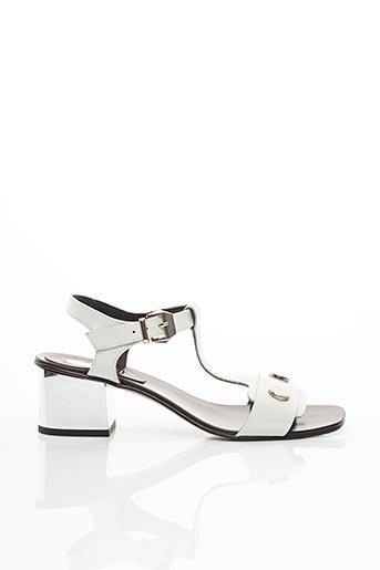 Sandales/Nu pieds blanc ELYSESS pour femme
