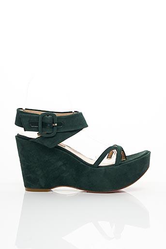 Sandales/Nu pieds vert BLUEPRINT pour femme