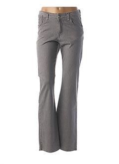Pantalon casual gris KANOPE pour femme