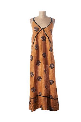 Robe longue orange OTTOD'AME pour femme