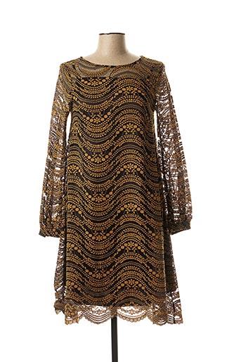 Robe mi-longue marron OTTOD'AME pour femme