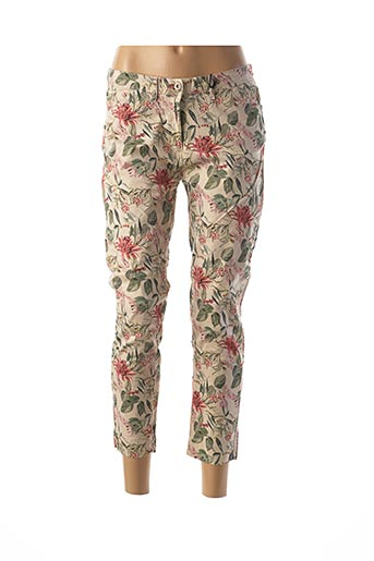 Pantalon 7/8 beige IMPAQT pour femme
