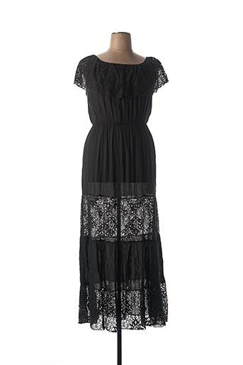 Robe longue noir BKINI pour femme