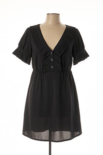 Robe mi-longue noir ATHÉ pour femme