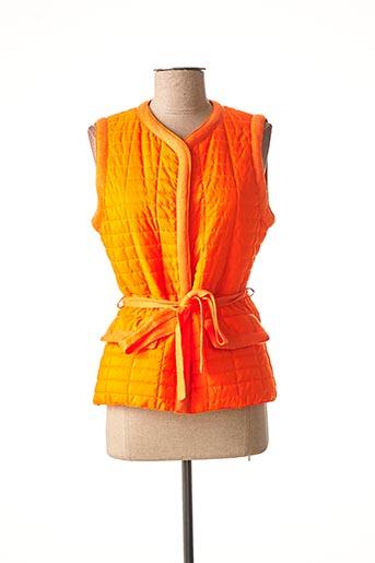 Doudoune orange MAX & MOI pour femme