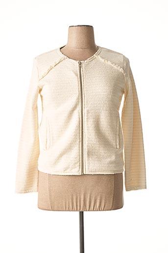 Veste casual beige HARTFORD pour femme