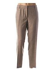Pantalon casual beige PAUL & JOE pour femme seconde vue