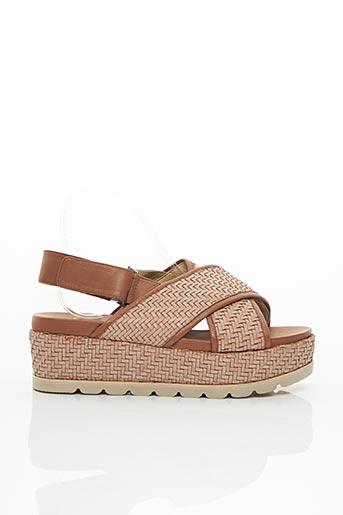 Sandales/Nu pieds marron PAUL & JOE pour femme