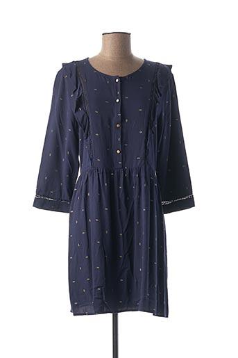 Robe courte bleu CHERRY pour femme