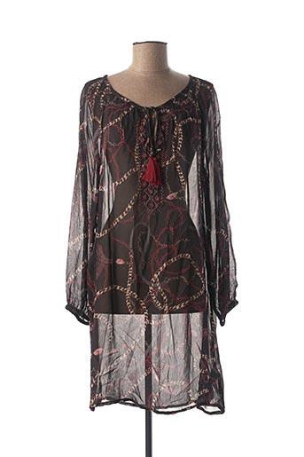 Robe pull noir CREAM pour femme