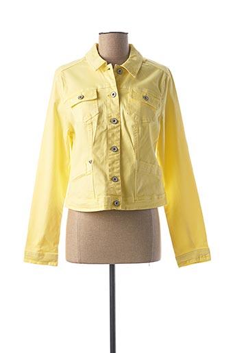Veste casual jaune GEISHA pour femme