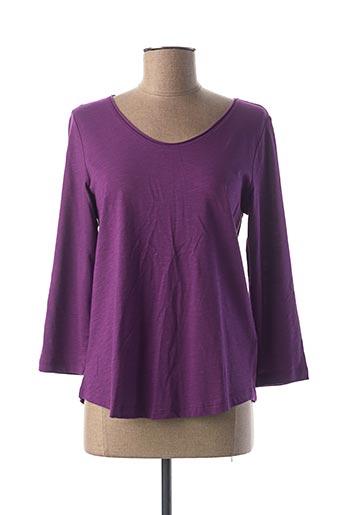 T-shirt manches longues violet STREET ONE pour femme