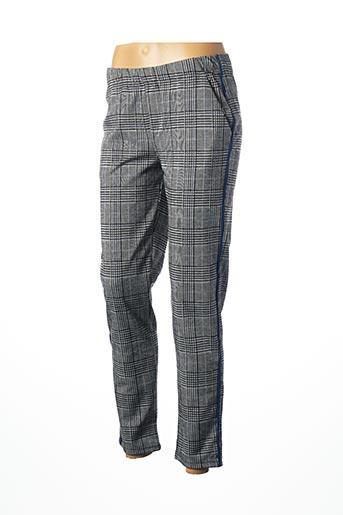 Pantalon 7/8 bleu GEISHA pour femme
