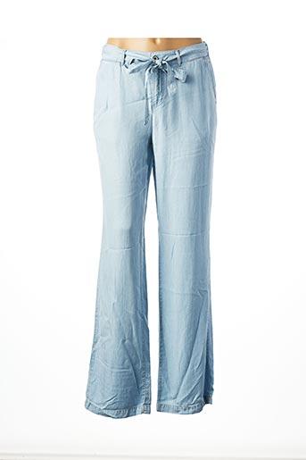 Pantalon casual bleu GEISHA pour femme