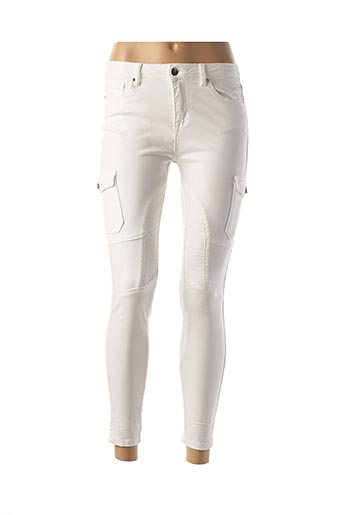 Pantalon 7/8 blanc DAYSIE pour femme