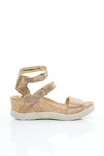 Sandales/Nu pieds beige FLY LONDON pour femme