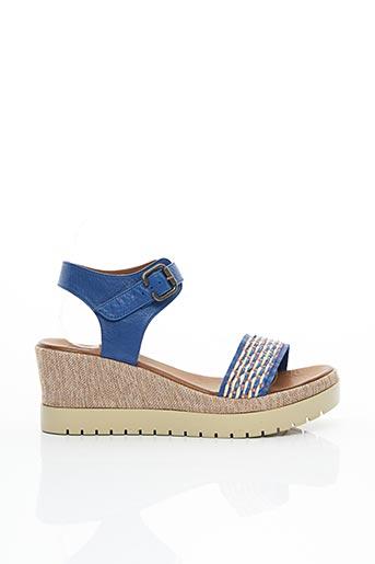 Sandales/Nu pieds bleu LUNE & L'AUTRE pour femme