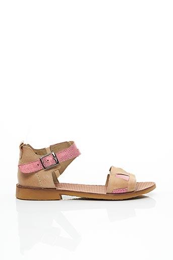 Sandales/Nu pieds rose CASTA pour femme