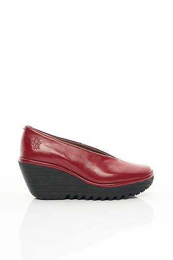 Escarpins rouge FLY LONDON pour femme