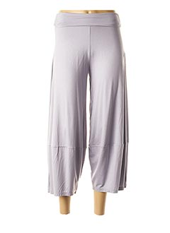 Pantalon casual violet LM LA MAILLE pour femme