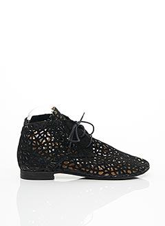 Bottines/Boots noir PAPUCEI pour femme