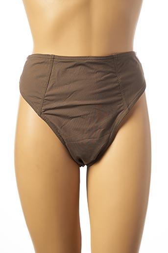 Bas de maillot de bain vert KHONGBOON pour femme