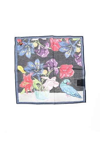 Foulard bleu NACH pour femme