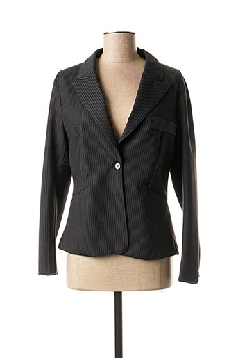 Veste chic / Blazer noir DESGASTE pour femme
