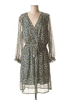 Robe mi-longue vert LILI & LALA pour femme
