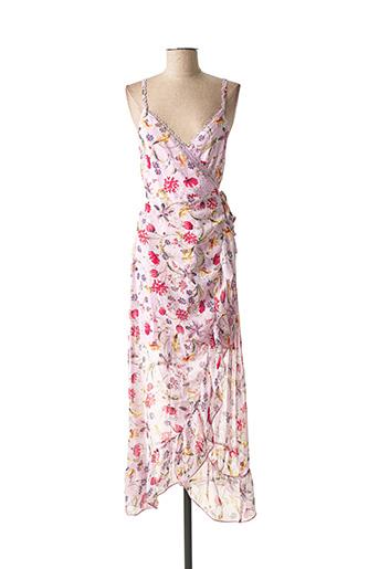 Robe longue violet LILI & LALA pour femme