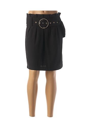 Jupe courte noir MAJOLICA pour femme