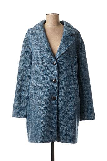 Manteau long bleu MAT DE MISAINE pour femme