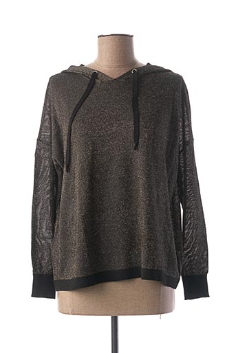 T-shirt manches longues beige I.CODE (By IKKS) pour femme
