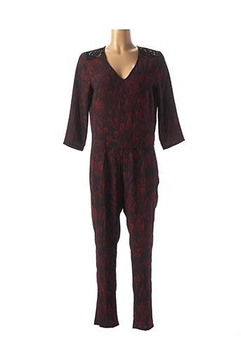 Combi-pantalon rouge ONE STEP pour femme