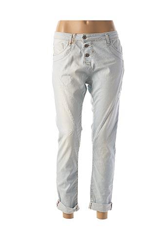 Jeans coupe slim bleu PLEASE pour femme