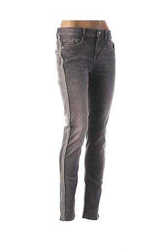 Pantalon casual gris STREET ONE pour femme