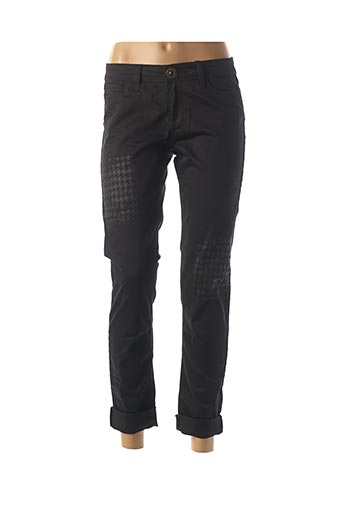 Pantalon casual noir DESIGUAL pour femme