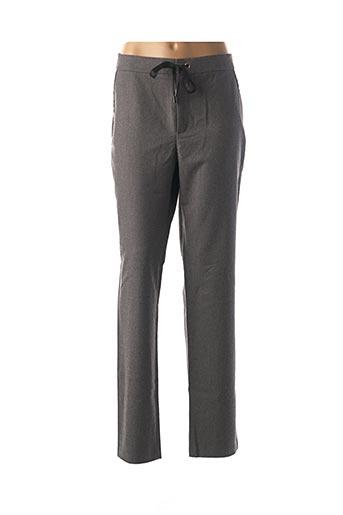 Pantalon casual gris ONE STEP pour femme