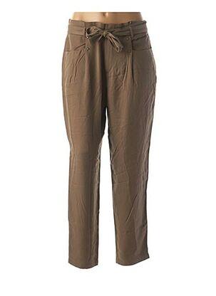 Pantalon casual vert ONE STEP pour femme