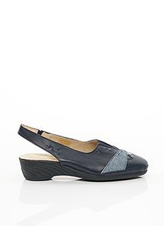 Chaussures de confort bleu LUXAT pour femme