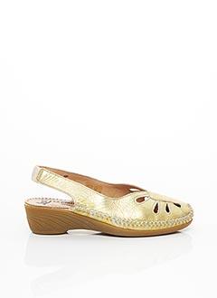 Chaussures de confort jaune LUXAT pour femme