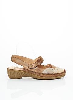 Chaussures de confort marron LUXAT pour femme