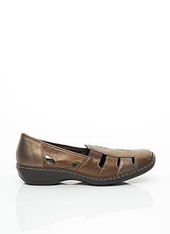 Chaussures de confort marron RIEKER pour femme